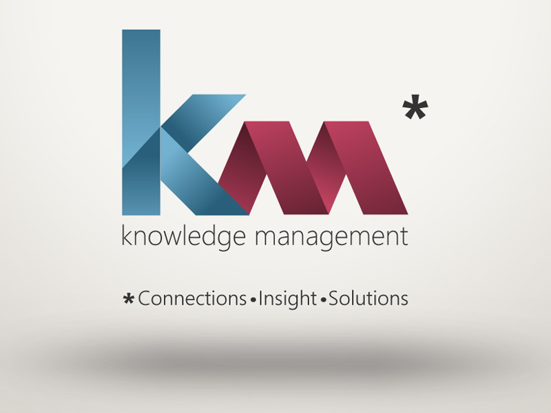 knowledge management department logo � scott fogel design